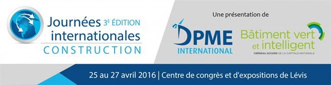 Journées internationales construction 3e édition