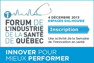 Inscription - 7e Forum de l'industrie de la santé