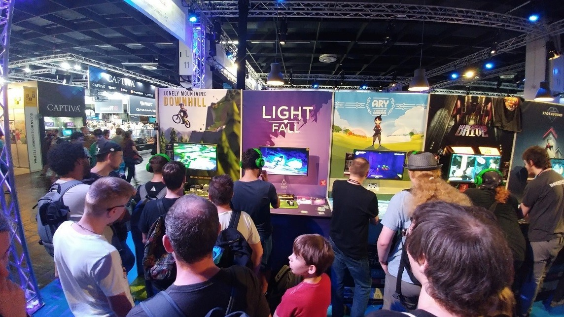 Light Fall de Bishop Games exposé au Indie Arena Booth lors du GAMESCOM 2017