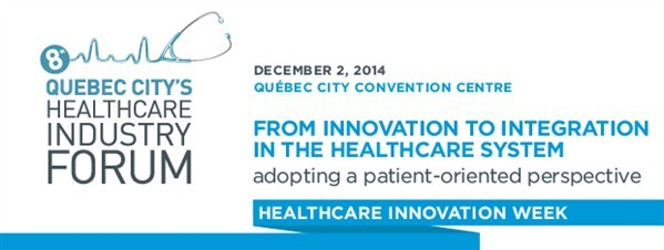 Banner - Quebec City Healthcare Industry Forum